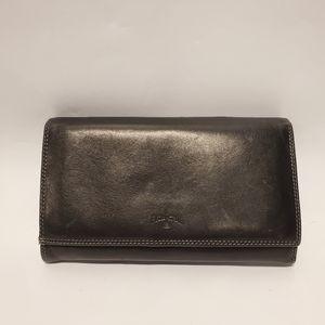 Vera Pelle Women's Leather Italian Wallet